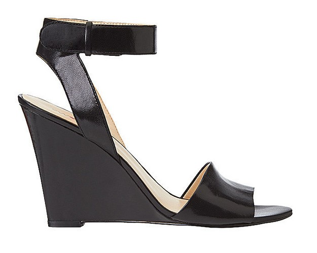 Black Leather Sandal ($109)