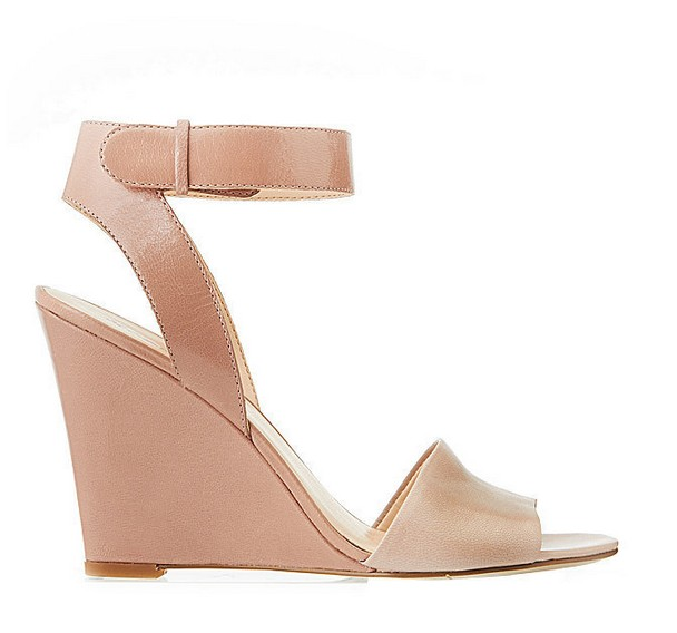 Two-Toned Tan Leather Sandal ($109)