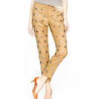 J.Crew Collection Sequin Bow Pants ($200, originally $495)