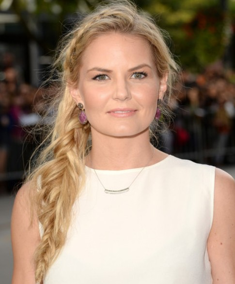 Jennifer Morrison Side Braid/Getty Images