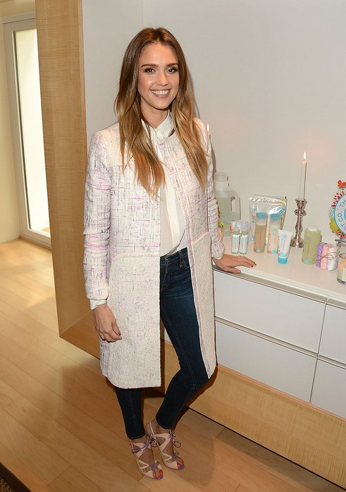 Jessica Alba's Ultimate Guide to Denim