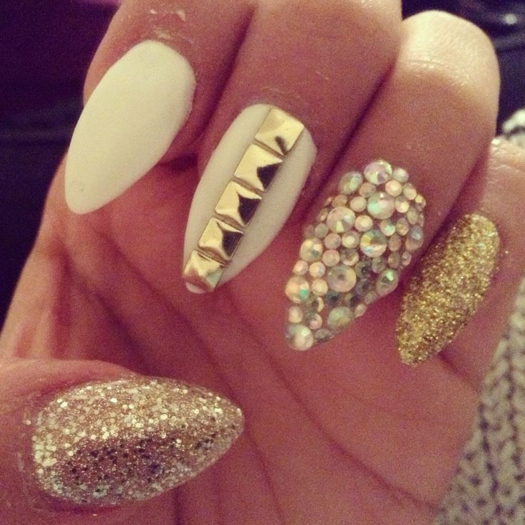Top 20 Studded Nail Designs You Should Have Pretty Designs