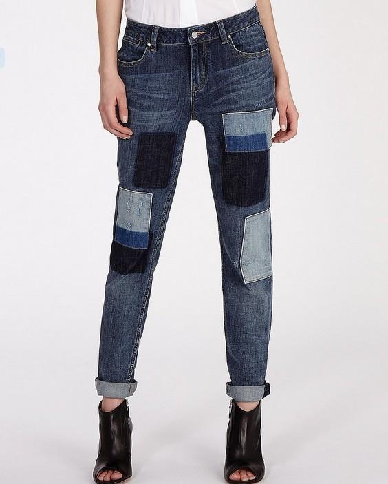 Karen Millen Jeans Patched Denim Collection