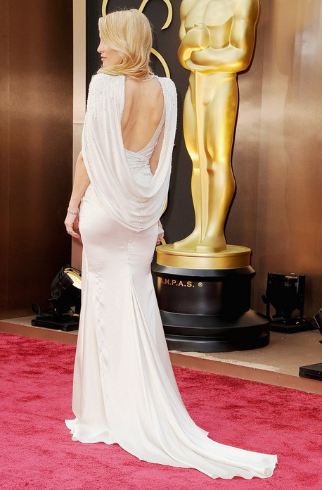 Kate Hudson S Silky Silver Atelier Versace Gown For