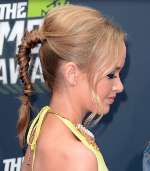 Kelley Jakle Long Braid/Getty Images
