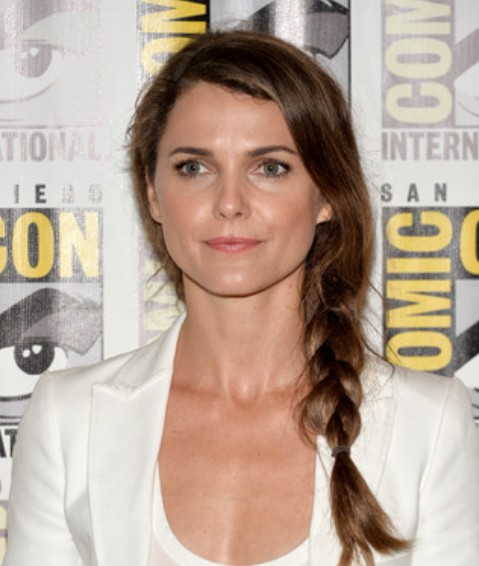 Keri Russell Side Braid/Getty Images