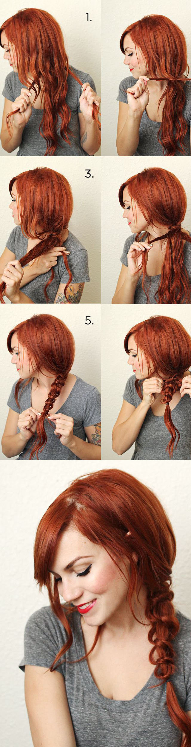 Daily Hair Tutorials You Must Have - Pretty Designs