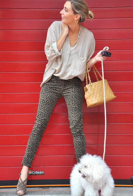 Leopard Prints for Stylish Street Style Looks in 2014