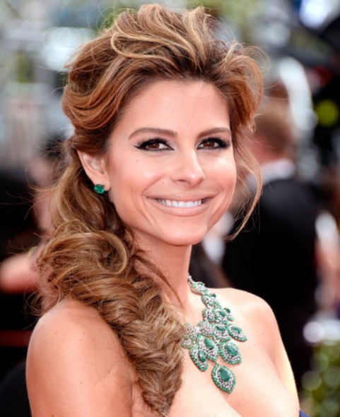 Maria Menounos Loose Fishtail Braid/Getty Images