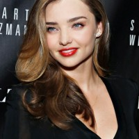 Miranda Kerr in Red Lips