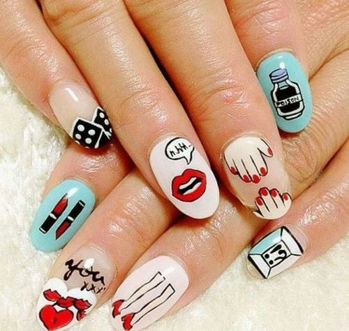 Pretty Nail Art Tumblr: 2014 Trendy Nail Designs You Must Have
