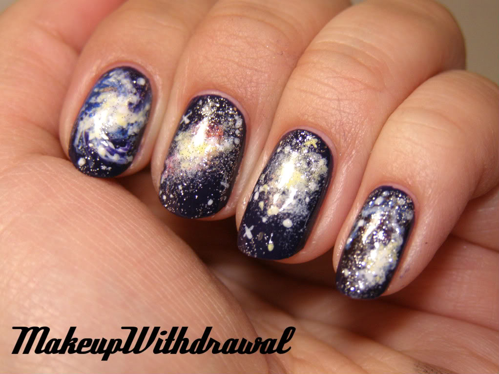 17 Amazing Galaxy Nail Designs for the Season - Pretty Designs