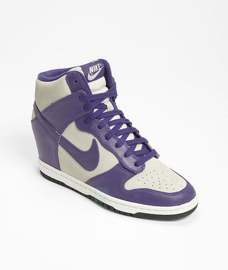Nike Dunk Sky Hi Wedge Sneakers ($120)