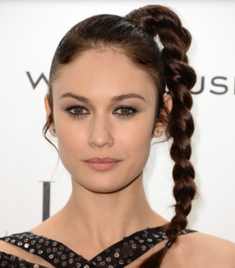 Olga Kurylenko Long Braid/Getty Images