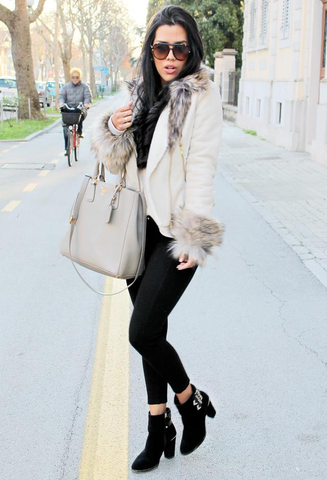 Pale Grey Handbags