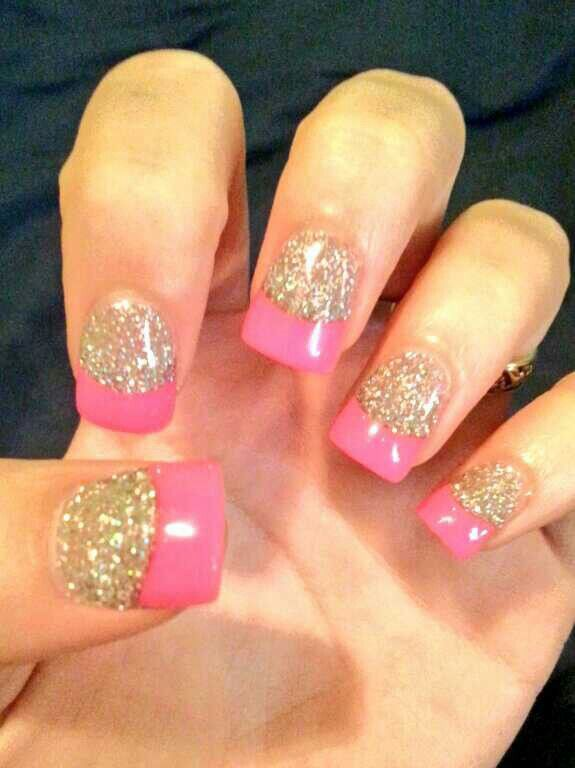 15 pink nail arts you must have pretty designs pink and gold nails prinsesfo Images
