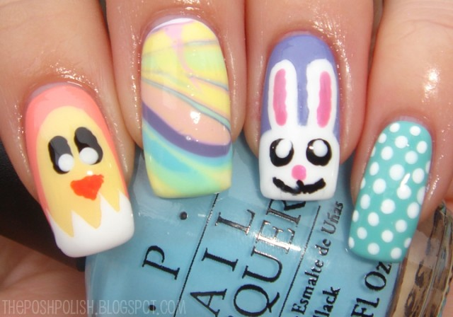 Pretty Bunny Nails