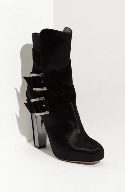 Enrika Satin Boots ($500)