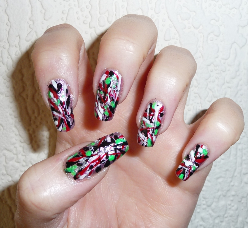 12 Pollock Nail Designs You Must Have Pretty Designs