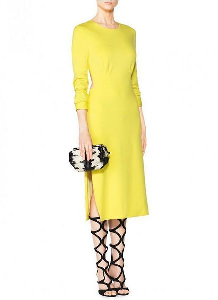 Side Slit Dress ($995)