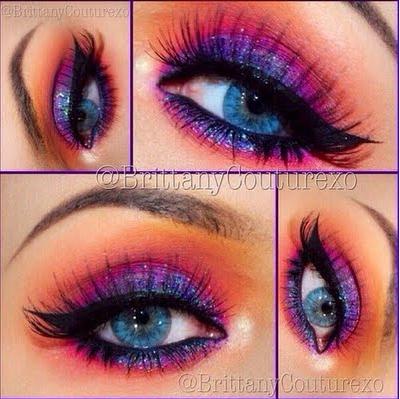 25 eyecatching sparkly makeup ideas  pretty designs