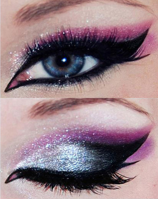 25 Eye Catching Sparkly Makeup Ideas  Pretty Designs - Makeup Ideas