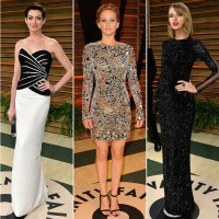 Stunning Oscars 2014 After-party Dresses