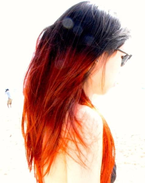 Sunny Ombre Hair