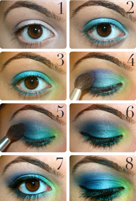 The Bright Blue Smoky Eye