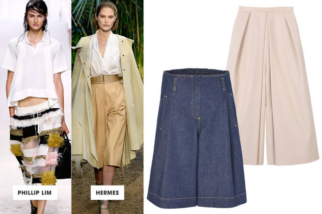 Top 10 Trends to follow this Season: Cool Culottes