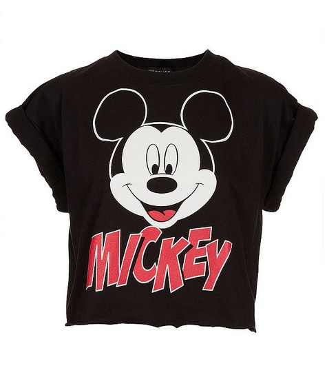 Topshop Mickey Crop Top ($32)
