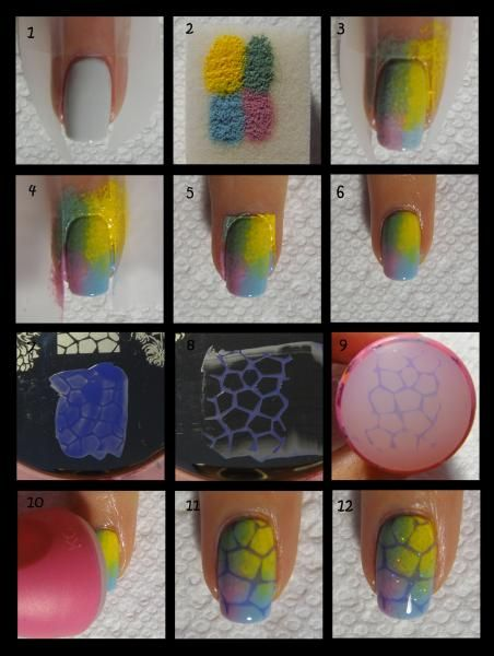 Turtle Shell Nails