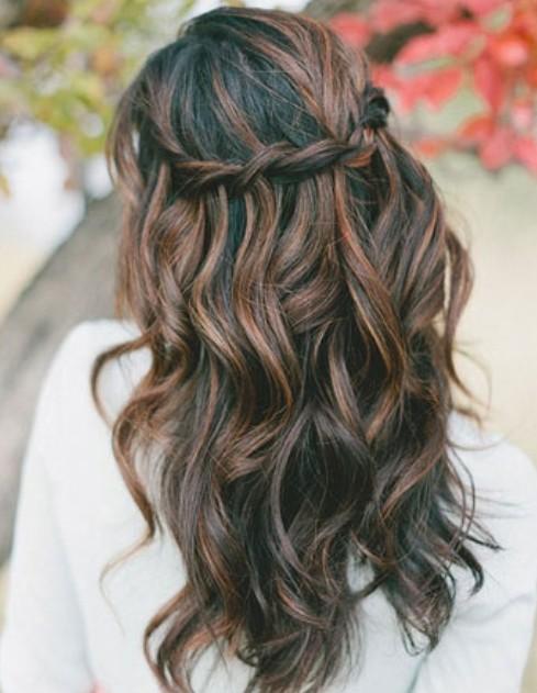 Waterfall Hair