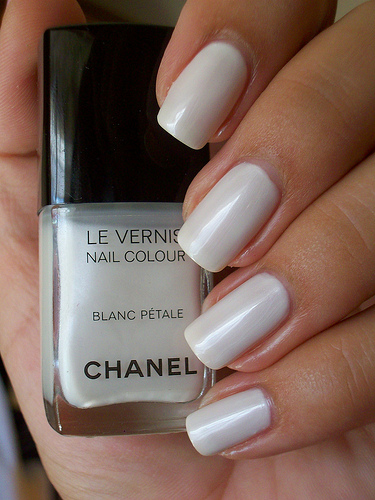 White Nails for Spring
