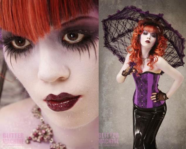 Gothic vire makeup ideas mugeek vidalondon for Gothic painting ideas