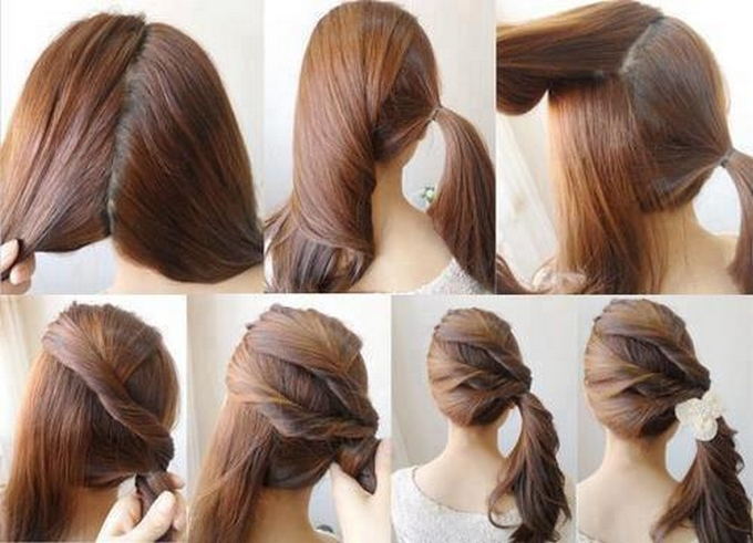 The Twisted Pony - 15 Ways to Make Cute Ponytails