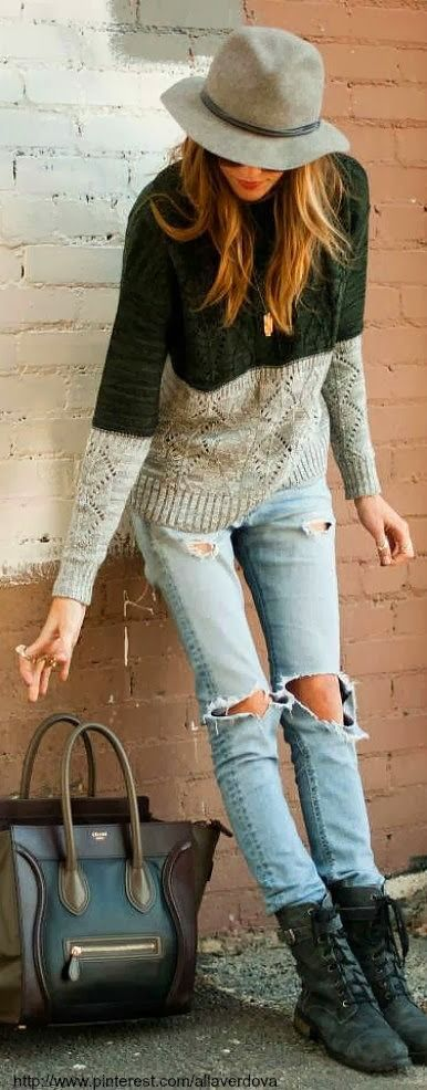 2014 Fashionable Outfits with Rigged Jeans