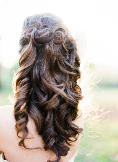 2014 Prom Hairstyle for Curly Hair
