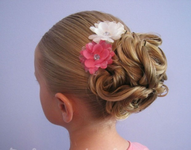 Little Girl Hairstyles Updos: 25 Cute Hairstyles With Tutorials For Your Daughter