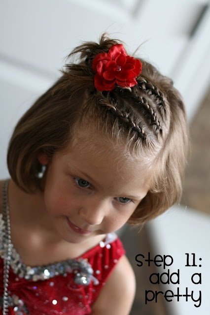 Stupendous 25 Cute Hairstyles With Tutorials For Your Daughter Pretty Designs Hairstyles For Men Maxibearus