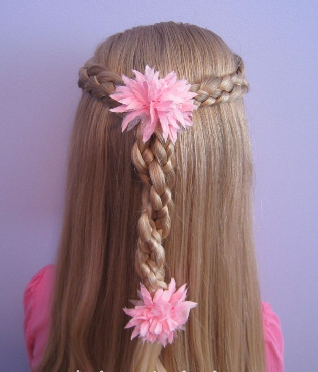 Tremendous 25 Cute Hairstyles With Tutorials For Your Daughter Pretty Designs Hairstyles For Men Maxibearus