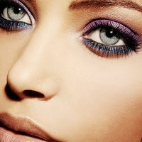 Purple Eyeshadow for Night Makeup Ideas via