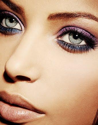 Purple Eyeshadow for Night Makeup Ideas via