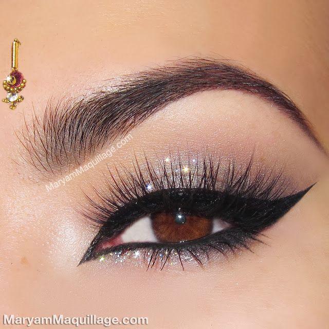 Subtle Glitter Eyes