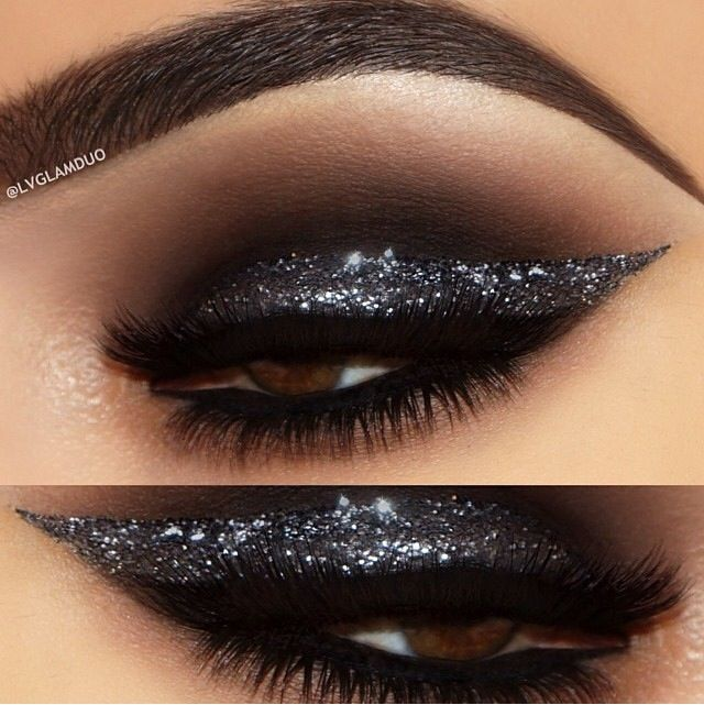 A Collection of 30 Best Glitter Makeup Tutorials and Ideas ...
