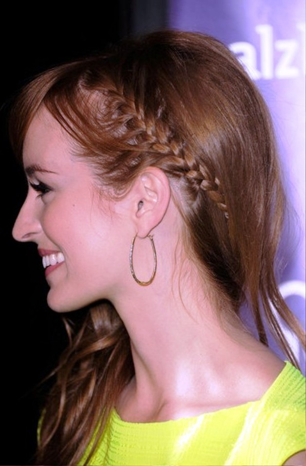 Ahna OReilly Braided Hairstyle