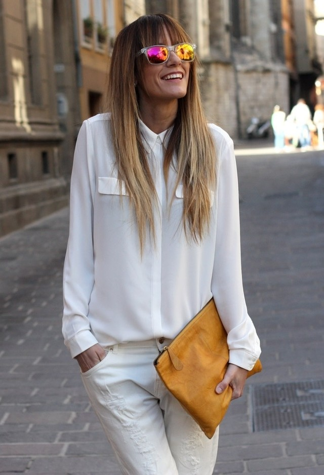 17 All White Combination Ideas for Stylish Spring Looks