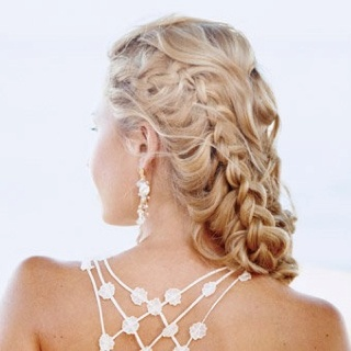 Amazing Braided Prom Hairstyle for Long Hair