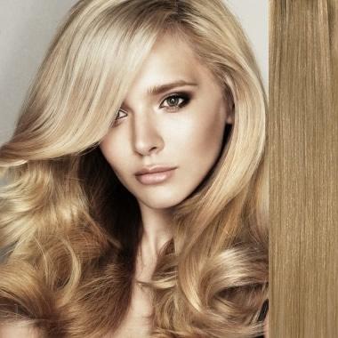 Ash Blonde Medium Curls