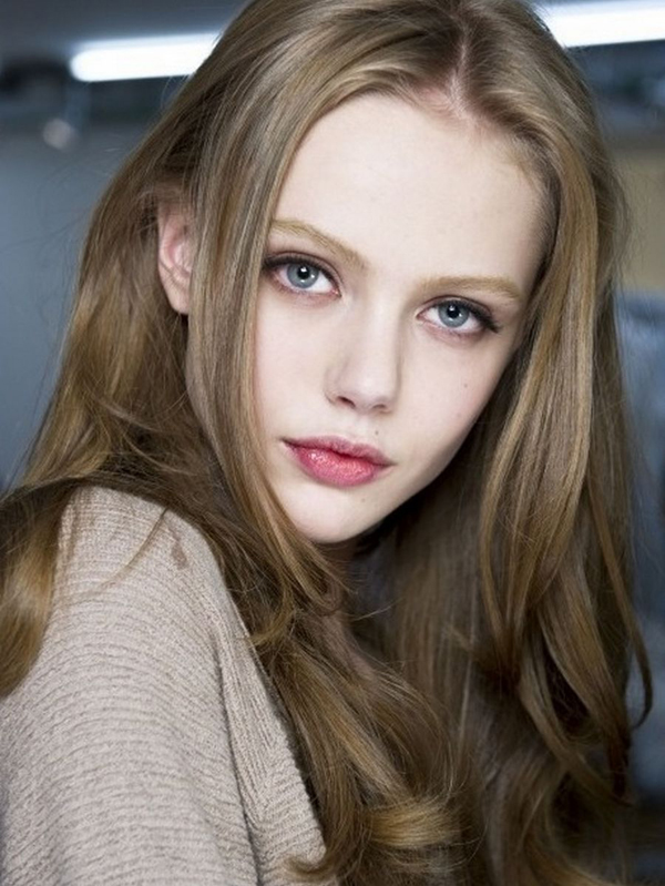 Ash Blonde Soft Curls
